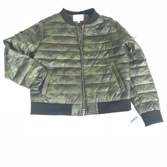 Lucky Brand Other - Lucky brand camouflage bomber